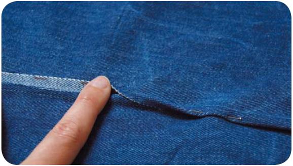 Запошивочный, или бельевой шов