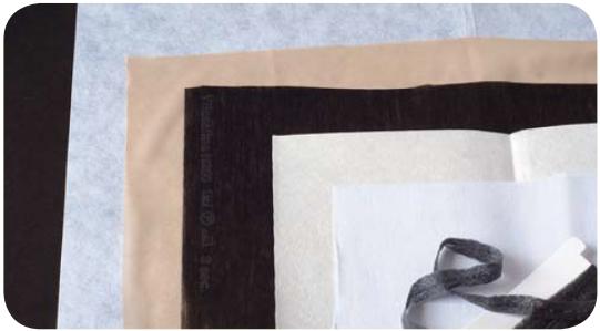 Прокладочные материалы: варианты образцов