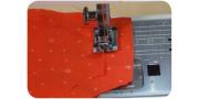 Обработка тонких и легких тканей на швейной машинке