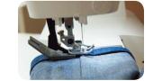 Обработка плотных и толстых тканей на примере джинсовой ткани