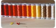 Материалы и инструменты для вышивки на швейной машинке