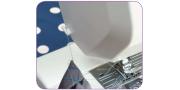 Начало и конец швейной строчки: закрепление и высвобождение ткани