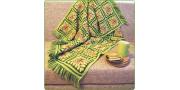 Плед из испанских квадратов: пошаговое вязание крючком
