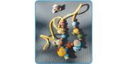 Вязаные бусы «Рыбки»: пошаговое вязание крючком