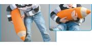 Подушка-игрушка «Карандаш»: пошаговое вязание крючком